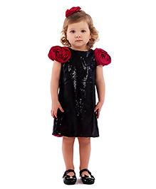 Kidology Rosy Cheek Dress - Black