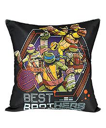 Ninja Turtle Cushion Cover - Black