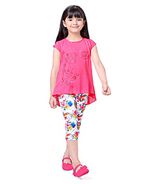 Tiny Baby Jeggings & Top Set - Pink