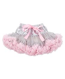 Kiwi Tutu Skirt With Ribbon Sash - Pink