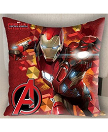 Marvel Athom Trendz Avengers Iron Man Cushion Cover - Red MAR-10-3-D57