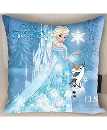 Disney Athom Trendz Frozen Filled Cushion With Cushion Cover - Blue - 963197