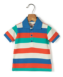 Beebay Half Sleeves Stripe T-Shirt - Multicolour