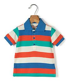 Beebay Half Sleeves Stripe T-Shirt - Multicolour