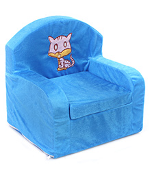 Luvely Kids Chair Cat Design - Blue