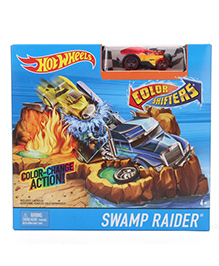 Hot Wheels Color Shifters Swamp Raider Set