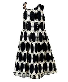 Marshmallow Fit & Flare Dress - Black