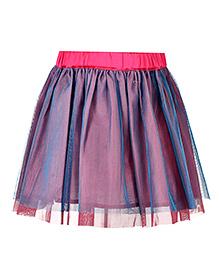 Marshmallow Stylish Skirt - Pink & Blue