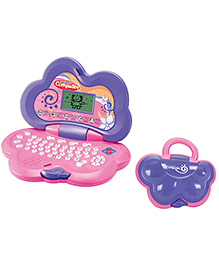 Toyhouse Educational Laptop With 25 Learning Activities - Pink Purple