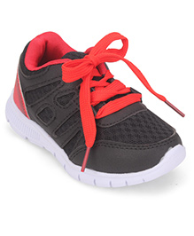Cute Walk by Babyhug Casual Shoes - Black Red