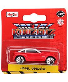 Maisto Jeep Jeepster - Red