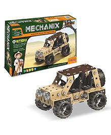 Zephyr Metal Mechanix DIY Safari Car - 155 Pieces