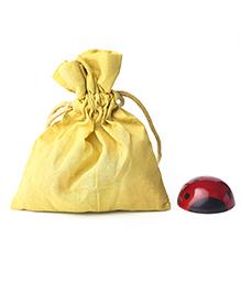Caravan Evolved Craft Ladybug Fridge Magnet - Red