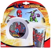Spiderman - Melamine Set