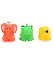 Ratnas Squeaky Toys Animal Multicolor - 3 Pieces