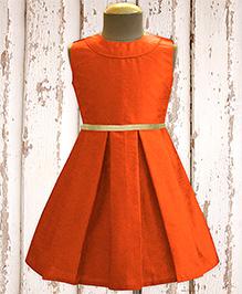 A.T.U.N Classic Audrey Dress - Orange
