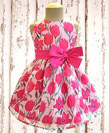 A.T.U.N Floral Delight Dress - Pink