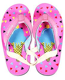Kidofy Softy Print Slipper - Pink