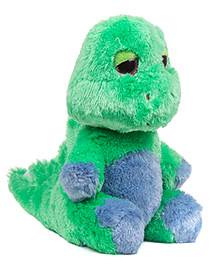 Jungly World Dynamic Dino Soft Toy Green - 9 Inch
