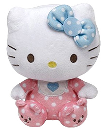 Jungly World Hello Kitty Pink Baby - 6 Inch
