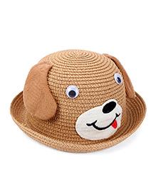 Babyhug Hat Puppy Design - Brown