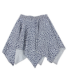 Nino Bambino Organic Cotton Handkerchief Skirt - Grey