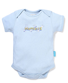 Zeezeezoo Dramebaaz Onesie  - Light Blue