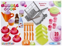 Ecoiffier Bubble Cook Box - 39 Pieces