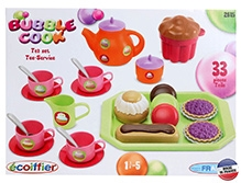 Ecoiffier Bubble Cook Tea Time Set - 33 Pieces