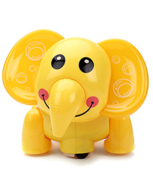 Musical Elephant Toy - Yellow
