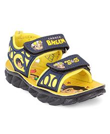 Chhota Bheem Printed Sandals - Yellow Black