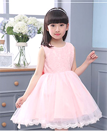 Tickles 4 U Party Dress - Peach