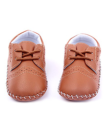 Alle Alle TPR Sole Shoes - Brown