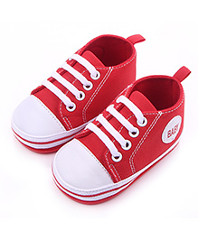 Alle Alle Canvas Shoes - Red