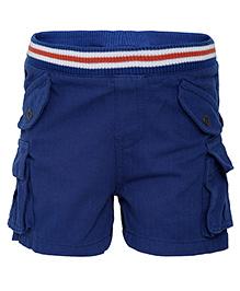 FS Mini Klub Rib Waist Shorts - Blue