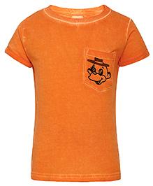 FS Mini Klub Short Sleeves T-Shirt - Orange