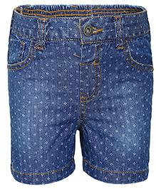 FS Mini Klub Woven Denim Shorts - Blue