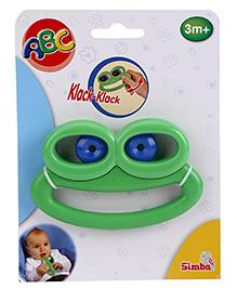 Simba ABC Frog Rattle - Green