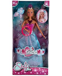 Simba Steffi Princess Doll Blue Pink - 11 Inches