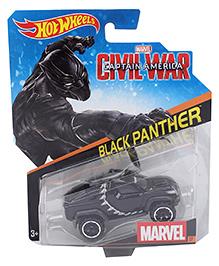 Hot Wheels Black Panther Car - Black