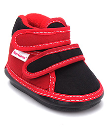 Morisons Baby Dreams Musical Casual Shoes - Red Black