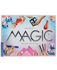 Funskool Thames And Kosmos Magic Set Silver Edition Multicolor - 100 Tricks