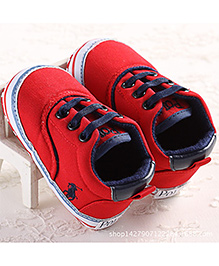 Wow Kiddos Classic Leisure Anti Slip Shoes - Red