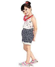 Little Pockets Store Summer Shorts - Blue