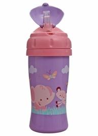 Fisher Price Trussip Flip Straw Cup Purple 250 ml