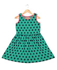 CrayonFlakes Shining Stars Dress - Light Turquoise
