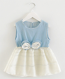Pre : Order Superfie Denim Dress - Blue