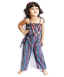 D'chica Potpourri Of Colours Jumpsuit - Multicolour