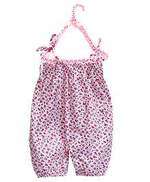 D'chica Soft & Chic Romper For Girls - Pink