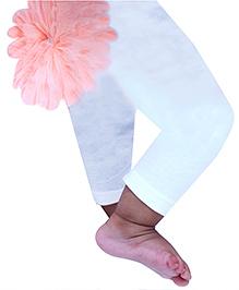 D'chica Chic Leggings For Girls - White